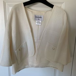 Genuine CHANEL light weight sweater jacket